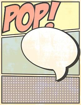 Pop-art kaart