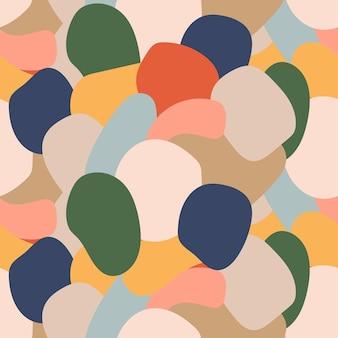 Pop-art stijl texturen retro komisch ontwerp abstract patroon in de stijl van de jaren 80 en 90 van memphis