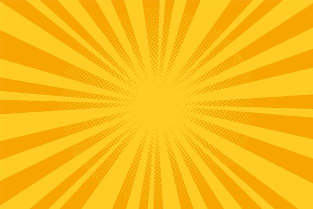Popart achtergrond. cartoon gestippeld halftoonpatroon. vector illustratie.