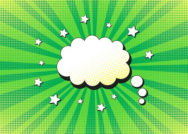 Popart achtergrond. cartoon starburst-print. vector illustratie.