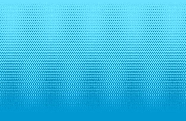 Popart achtergrond. halftoon komisch gestippeld patroon. blauwe cartoon vintage textuur.
