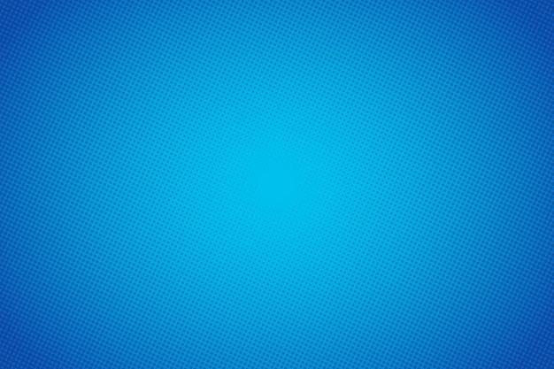 Popart cartoon blauwe vector achtergrond. abstract halftone puntjesontwerp als achtergrond. pop-art illustratie.