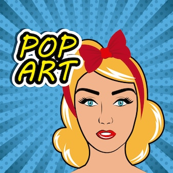 Popart cartoon graphics