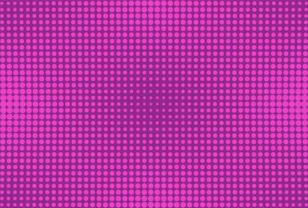 Popart halftone achtergrond. komische violette achtergrond. vector illustratie.