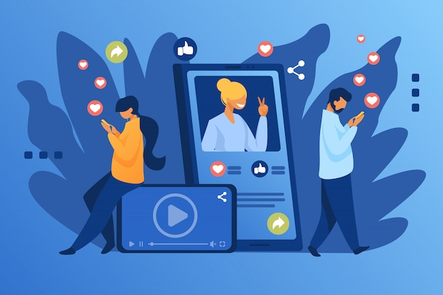 Populariteit van sociale media