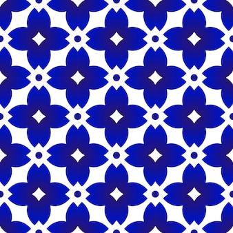 Porselein china naadloos patroon, chinees ceramisch
