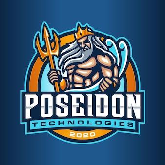 Poseidon-logo sjabloon