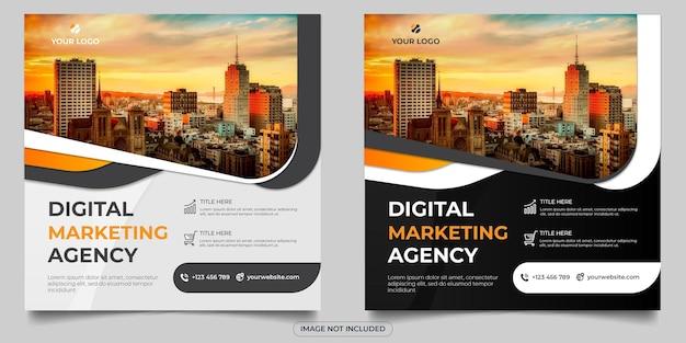 Post op sociale media van digitaal marketingbureau