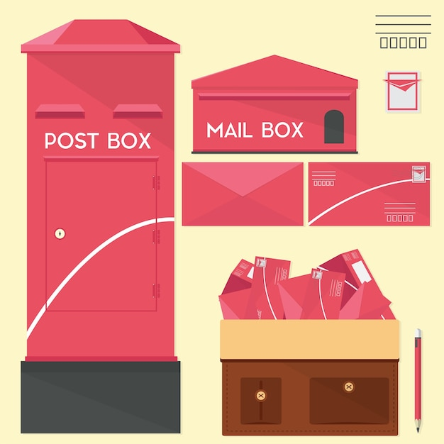 Postbus instellen