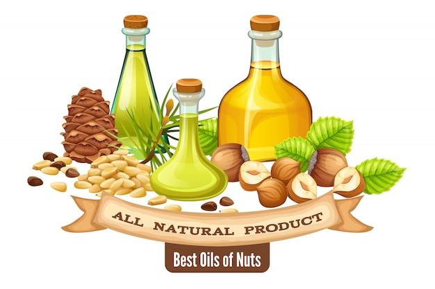 Poster noten olie.