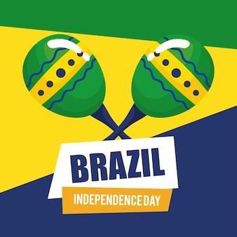 Poster onafhankelijkheid brazilië