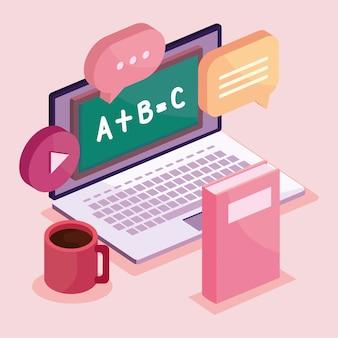 Poster van onderwijs online