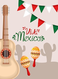 Poster van viva mexico