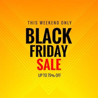 Poster verkoop van zwarte vrijdag kaart achtergrond