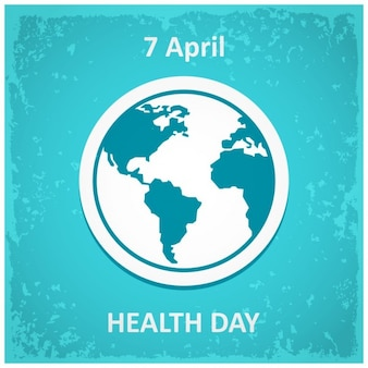 Poster voor de world health day