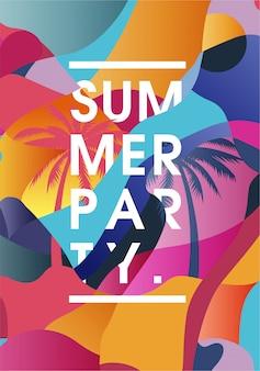Poster zomerfeest