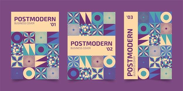 Postmoderne zakelijke omslagcollectie