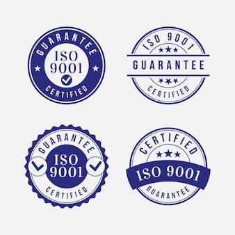 Postzegelverzameling iso-certificering