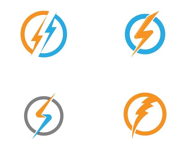 Power logo's sjabloon