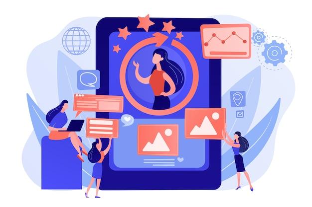 Pr-managers teamwerk, persoonlijke ontwikkeling