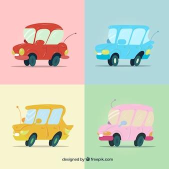 Prachtig pak grappige auto's