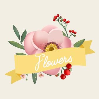 Prachtig vormgegeven bloemen