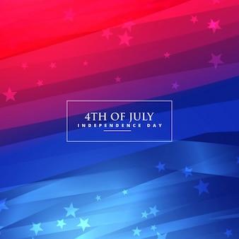 Prachtige 4 juli achtergrond