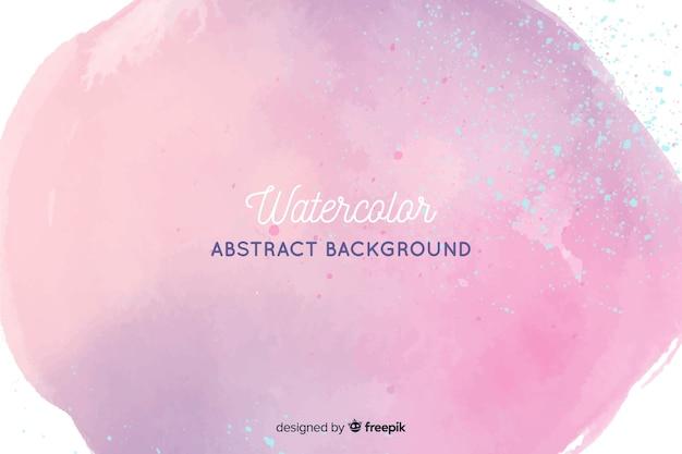 Prachtige abstracte aquarel achtergrond