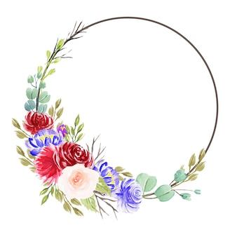 Prachtige aquarel bloemstukken