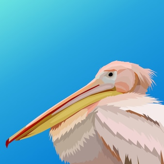 Prachtige flamingo illustratie