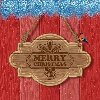 Prachtige kerst achtergrond