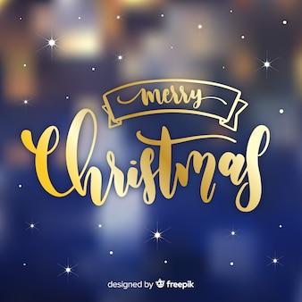 Prachtige kerst belettering