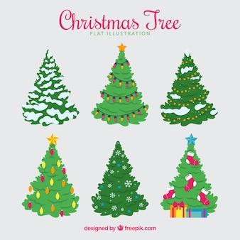 Prachtige kerstboom collectie