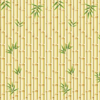 Prachtige natuur bamboe sjabloon