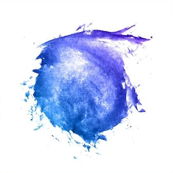 Prachtige veelkleurige aquarel splash vlek