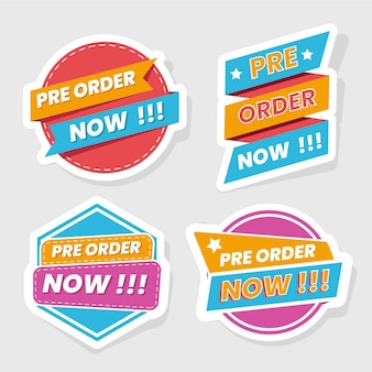 Pre-order badge-collectie