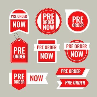 Pre-order labelverzameling