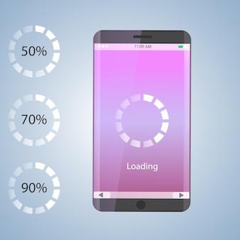 Preloader mobiel