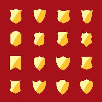 Premium gouden badges en labels collectie