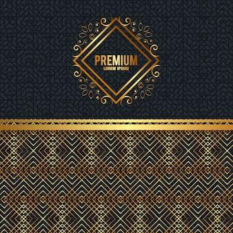 Premium kwaliteit gouden frame