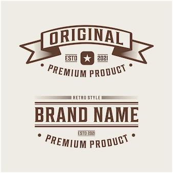 Premium product, originele merk premium vector