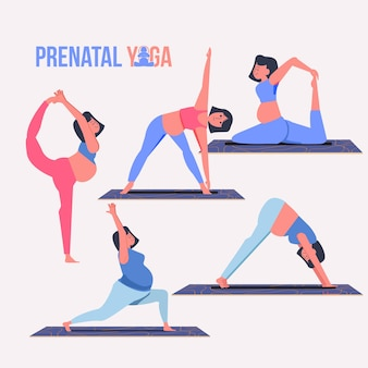Prenatale yoga-collectie