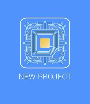 Presentatie nieuw project met micro nano chip