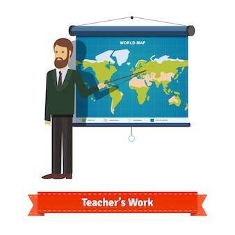 Presentatie op kaart