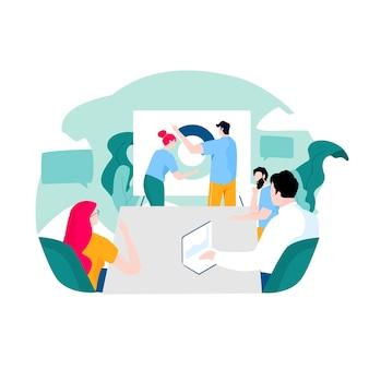 Presentatie van bedrijfsgegevensbeoordeling