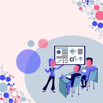 Presentatie van projectrapportconceptrapportage bedrijfsstatus productpresentatierapporten