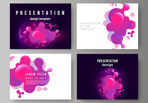 Presentatiedia's ontwerpen zakelijke sjablonen