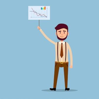Presentatieresultaten van succesvol werkconcept