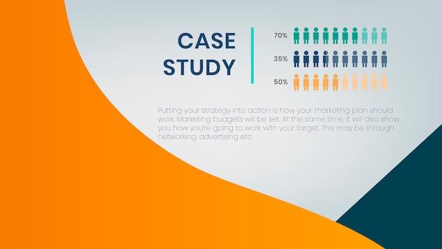 Presentatiesjabloon voor casestudy's