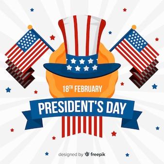President's dag achtergrond